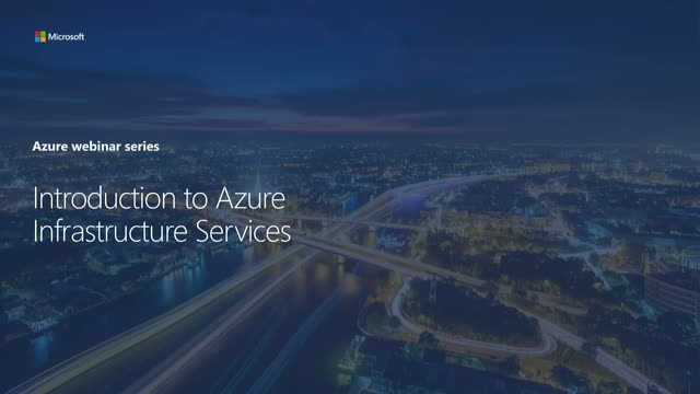 Intro to Azure Infrastructure as a Service