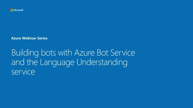 Building Bots and Language Models for Your Application