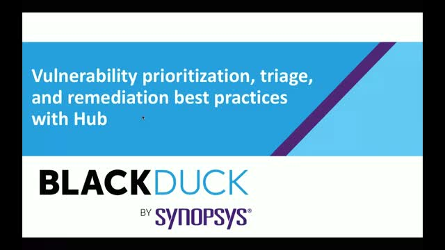 Vulnerability Triage, Prioritization & Remediation Best Practices with Hub