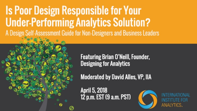 Is Poor Design Responsible for Your Underperforming Analytics Solution?