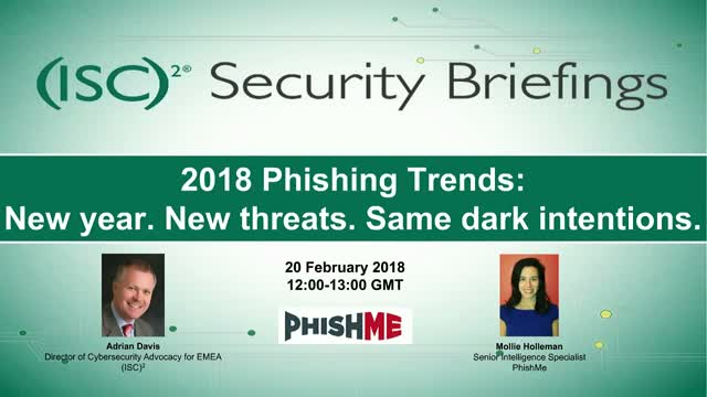 2018 Phishing Trends: New year. New threats. Same dark intentions.