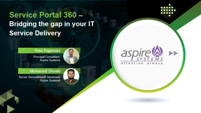 Service Portal 360 – Bridging the gap in your IT Service Delivery