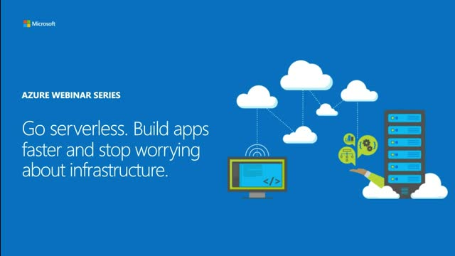 Go serverless. Build apps faster and stop worrying about infrastructure.