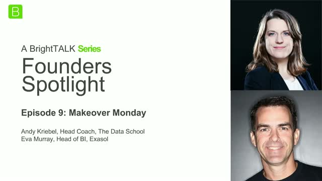 [Ep.9] Founders Spotlight : Eva Murray & Andy Kriebel of Makeover Monday