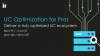 UC Optimization for Pros