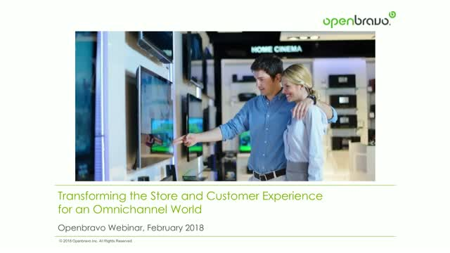 Transforming the store and customer experience for an omnichannel world