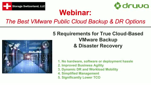 The Best VMware Public Cloud Backup & DR Options