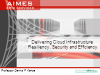 Delivering Cloud Infrastructure Resiliency, Security & Efficiency