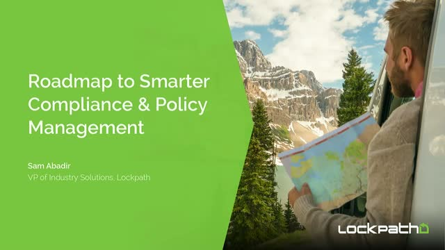 Roadmap to Smarter Compliance & Policy Management