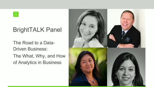 Panel Discussion: The Road to a Data-Driven Business