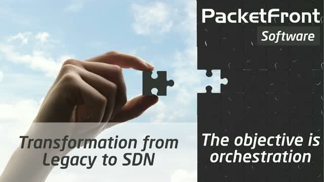 Transformation from Legacy to Software Defined Networking
