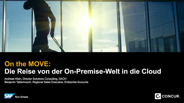 On the Move - Die Reise von der On-Premise Welt in die Cloud