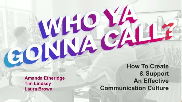 Who are you gonna call? Creating and supporting successful video communication