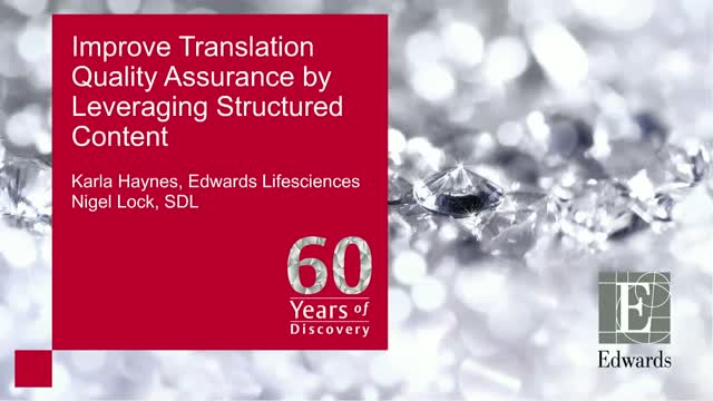 Improve Translation Quality Assurance by Leveraging Structured Content