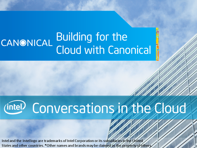 Building for the Cloud with Canonical