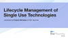 Lifecycle management of single use technologies