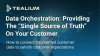 "Data Orchestration: Providing The ""Single Source of Truth"" On Your Customer"
