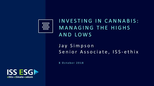 Investing in Cannabis: Managing the Highs and Lows