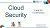 Live Demo Cloud Security - Fixing the Fundamentals