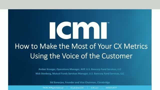 How to Make the Most of Your CX Metrics Using the Voice of the Customer