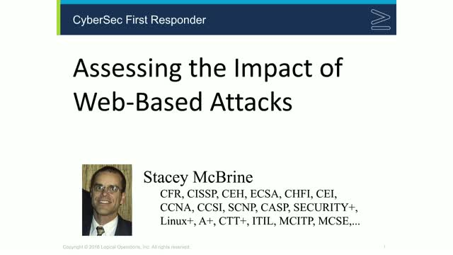"""""""Assessing the Impact of Web-Based Attacks"""" - a CFR exam topic"""