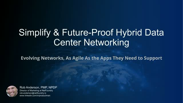 Future-Proof your Architecture: Remove Hybrid Data Center Networking Complexity