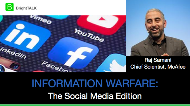 Information Warfare: The Social Media Edition