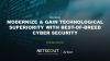 Modernize & Gain Technological Superiority with Best-of-Breed Cyber Security