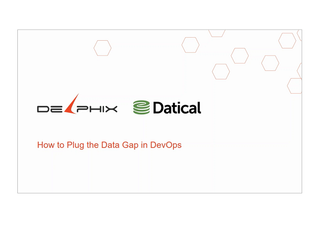 How to Plug the DevOps Data Gap