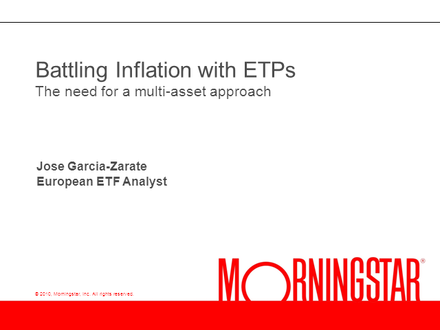 Battling Inflation with ETPs