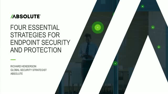 Four Essential Strategies for Endpoint Security and Protection