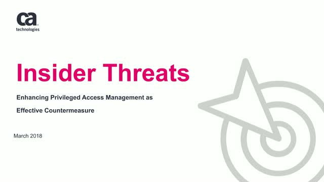 Insider Threats – Enhancing PAM as Effective Countermeasure