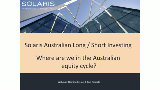 2018 – Where are we in the Australian equity cycle?