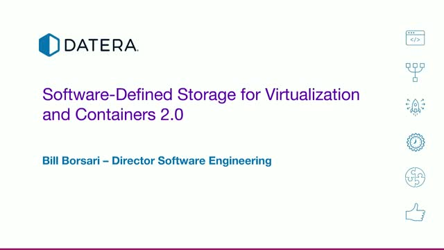 Software-Defined DATA Automation for Virtualization and Containers 2.0