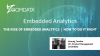The Rise of Embedded Analytics, How To Do It Right