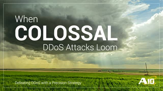 When Colossal DDoS Attacks Loom