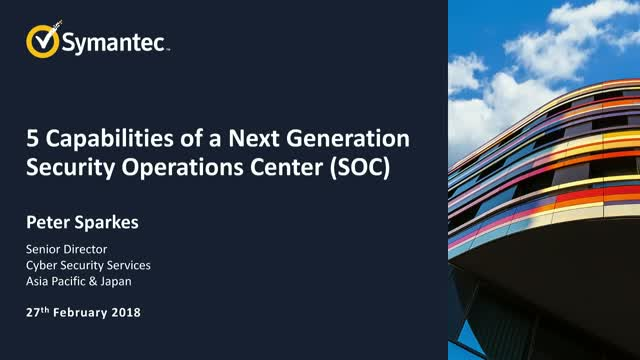 The 5 Essentials of Every Next-Gen SOC