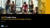 SAP Enable Now – A Flexible Platform for Advanced Learning and Knowledge Sharing