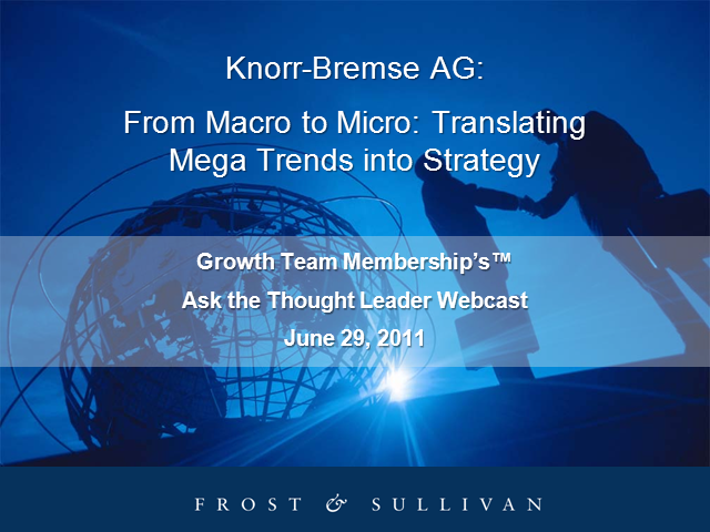 From Macro-to-Micro: Translating Mega Trends into Strategy
