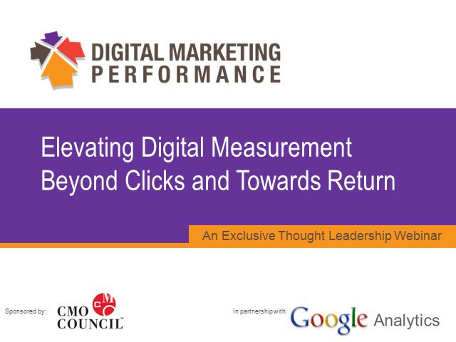 Elevating Digital Measurement Beyond Last Click and Towards Return