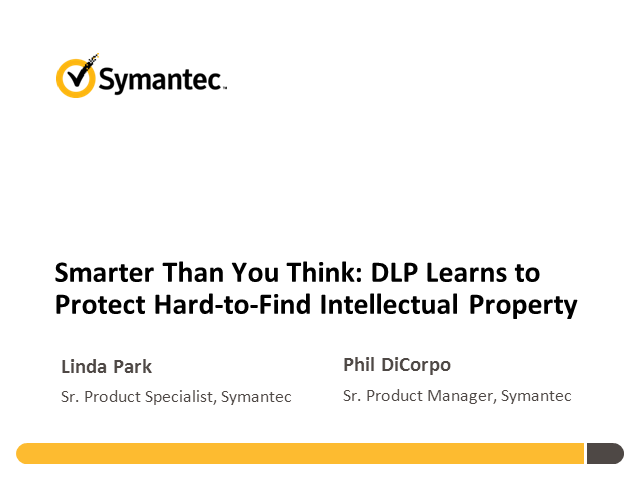 Smarter Than You Think: DLP Learns to Protect Hard-to-Find IP