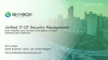 Unified IT-OT Security Management: Strengthening Critical Infrastructure Defense