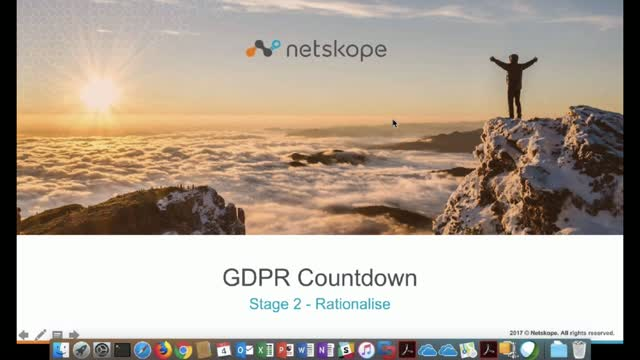 GDPR Countdown - Rationalize Stage