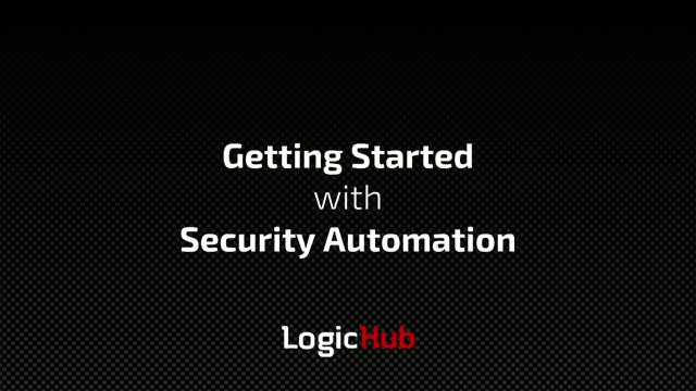 How to get started with Security Automation and Orchestration