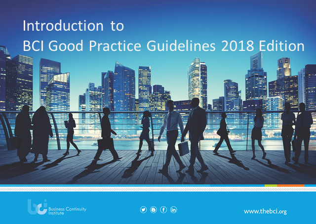 Introduction to the BCI Good Practice Guidelines 2018 Edition