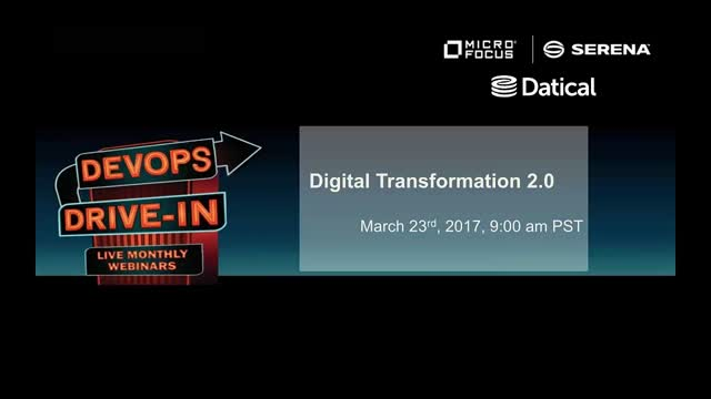 Micro Focus & Datical: Digital Transformation 2.0