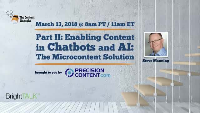 Enabling Content in Chatbots and AI: Part II — The Microcontent Solution