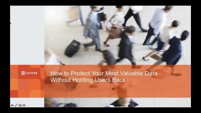 How to Protect Your Data Without Holding Users Back
