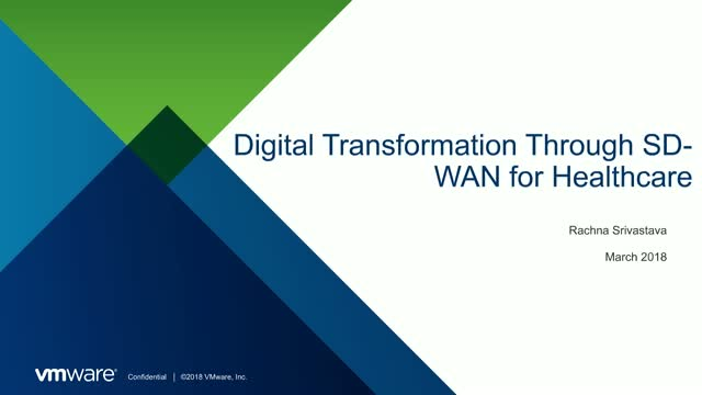 Healthcare Embraces Transformation through SD-WAN to Better Service the Patient