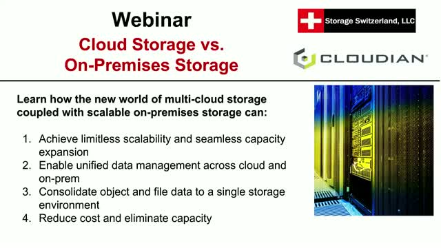 Cloud Storage vs. On-Premises Storage